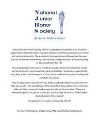 pleasurable njhs recommendation letter example national junior