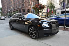 matte gray rolls royce 2017 rolls royce ghost black badge stock l406a for sale near