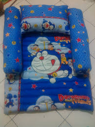 Kasur Bayi Karakter kasur lantai set bayi anak karakter kartun lucu azka oserba
