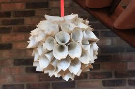 how to make christmas decorations u2013 beautiful paper hanging decor