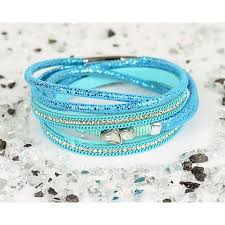 clasp cuff bracelet images Cuff bracelet fashion chic leather look and rhinestone l38cm jpg