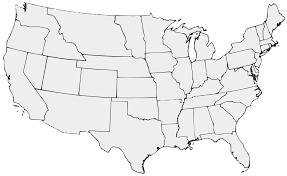 Blank Map Of America by Us Geography Enchantedlearningcom Geo Map Usa California This Is
