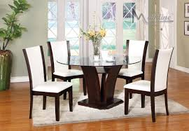 enclave ii white table 4 chairs 22105 22130 mainline inc casual