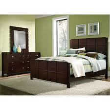 mosaic 5 piece bedroom set brown value city furniture