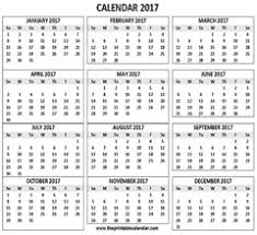 print calendars for 2017 2017 calendar one page 1 page calendar 2017