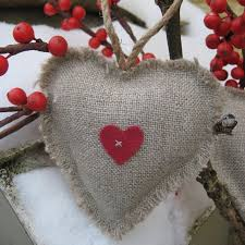 Fabric Heart Decorations 37 Best Fabric Hearts Images On Pinterest Fabric Hearts Hessian