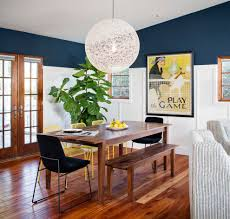 wonderful blue dining room chairs with beige wall sconce