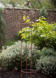 medium barrington obelisk plant support gardening pinterest