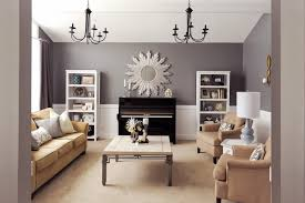 beautiful formal living room and piano room modern living room