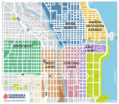 Chicago Loop Map by Market Chicago Office Space Data