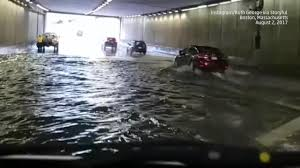 Boston Logan Airport Map Tunnels Flooded At Logan Airport In Boston The Weather Channel