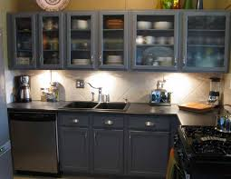 Kitchen Cabinet Paint Colors With Eeadfcbec - Painting kitchen cabinets gray