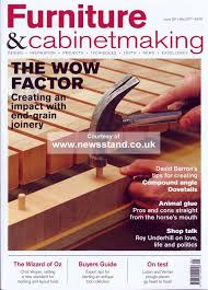 furniture u0026 cabinet making magazine subscription buy at