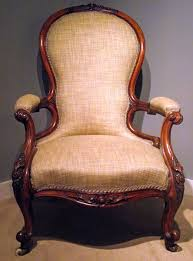 Victorian Armchairs Victorian Walnut Upholstered Armchair Arm Chair Easy Chair