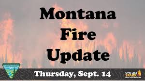 Wild Fires In Montana Right Now by Montana Fire Update Thursday Sept 14 2017 Youtube