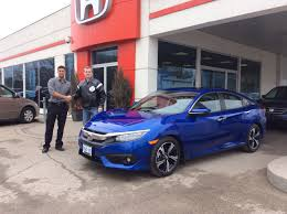 honda civic 2016 sedan first 2016 civic touring in u0027aegean blue by shawn lawson