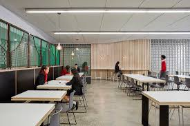 caroline chisholm college cafeteria by branch studio architects
