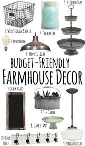 chic on a shoestring decorating budget friendly farmhouse style