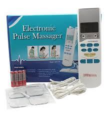 amazon com santamedical electronic tens unit handheld pain relief