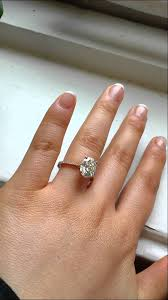 moissanite bridal reviews engagement ring 10x8 gold oval fb moissanite