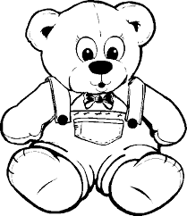 afunk bear coloring books coloring pages