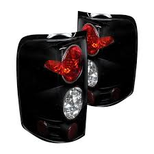 2001 ford f150 tail light assembly back in black set of blacked out lights for your 11th gen f 150