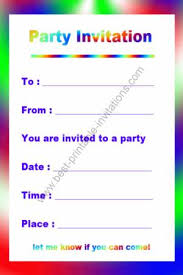 birthday invites free printable birthday invitations for you free