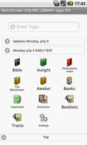 watchtower library for android watchtower library apps for android watchtower