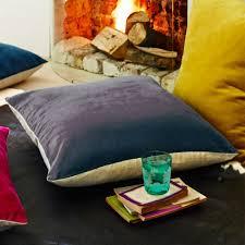 Cushions Velvet Grey Velvet U0026 Linen Cushions