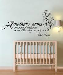 vinyl wall decal sticker mother s arms quote os dc505