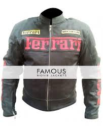 motorcycle racing jacket buy online black ferrari motorcycle racing leather jacket famous