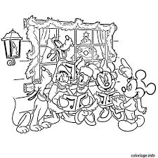 coloriage de noel de disney dessin