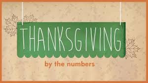 thanksgiving by the numbers abc news