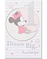 amazon com american greetings mickey mouse 1st birthday card for