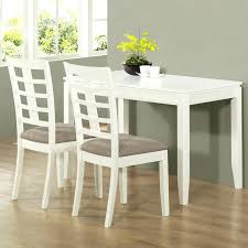 Space Saver Dining Set Table Four Chairs Space Saving Dining Room Sets Furniture Rectangle Black Wooden