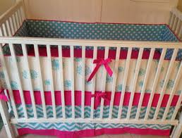 Pink And Aqua Crib Bedding 11 Best Pink And Gray Baby Crib Bedding Ideas Images On