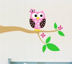 Owl Nursery Wall Decals by Decoration Owl Wall Decor Home Decor Ideas