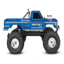 rc nitro monster trucks traxxas 1 10 bigfoot 1 the original monster truck blue