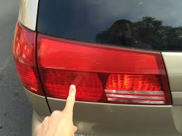 Tail Light Out How To Replace Toyota Sienna Liftgate Tail Lights Share Your Repair