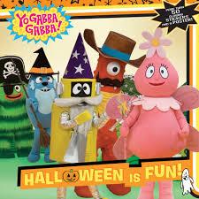 halloween is fun yo gabba gabba mickie matheis mike giles