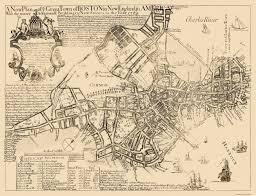 Suffolk County Massachusetts Maps And Old City Map Boston Massachusetts 1769