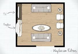 floor plan living room living room layouts wayfair