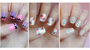 easy nail art for beginners 8 youtube nail designs for 9 year