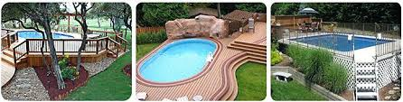 semi inground pool deck designs tag semi inground pool idea