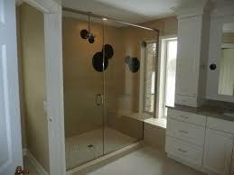 3 Panel Shower Doors Custom Frameless Shower Doors Milwaukee Frameless Shower Door