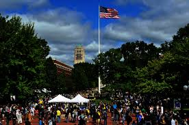 Michigans Flag University Of Michigan Black Alumni