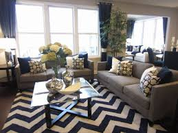 black and gray living room 19 black grey and blue living room cole barnett navy blue and gray