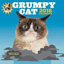 Grumpy Cat Mini Wall Calendar - grumpy cat wall calendar 2018 chronicle books calendars com
