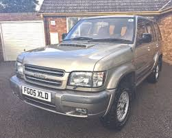 isuzu trooper 3 0 td citation 4x4 5dr in worcester