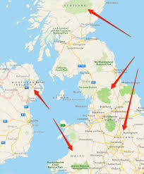map of scotland and did maps lose scotland wales northern